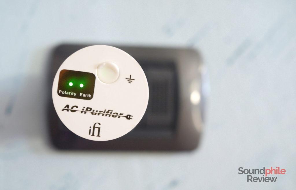 iFi AC iPurifier top
