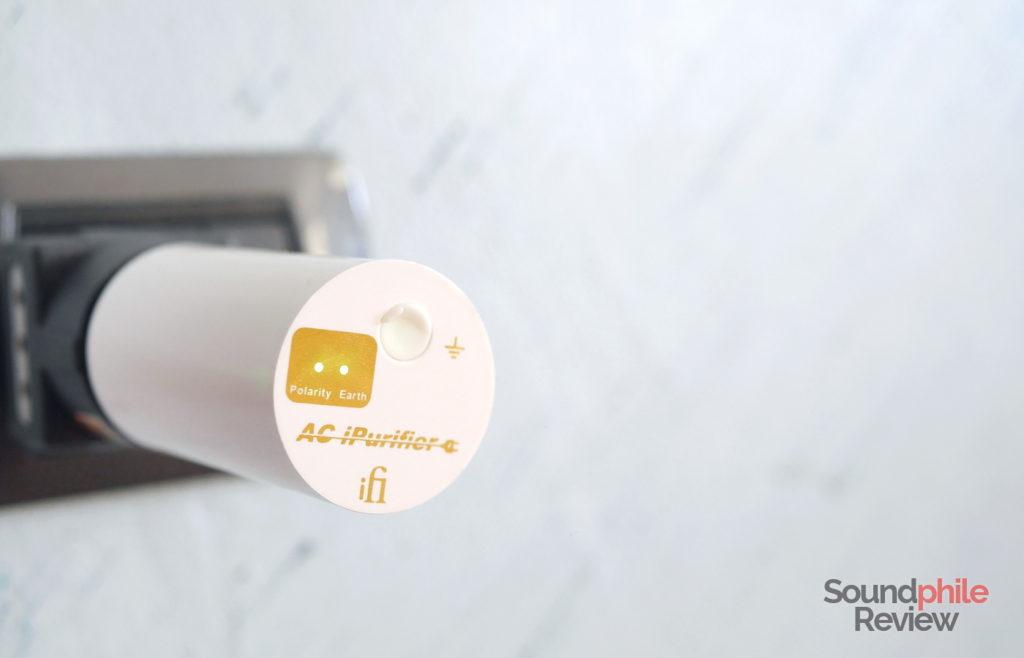 iFi AC iPurifier in a wall socket