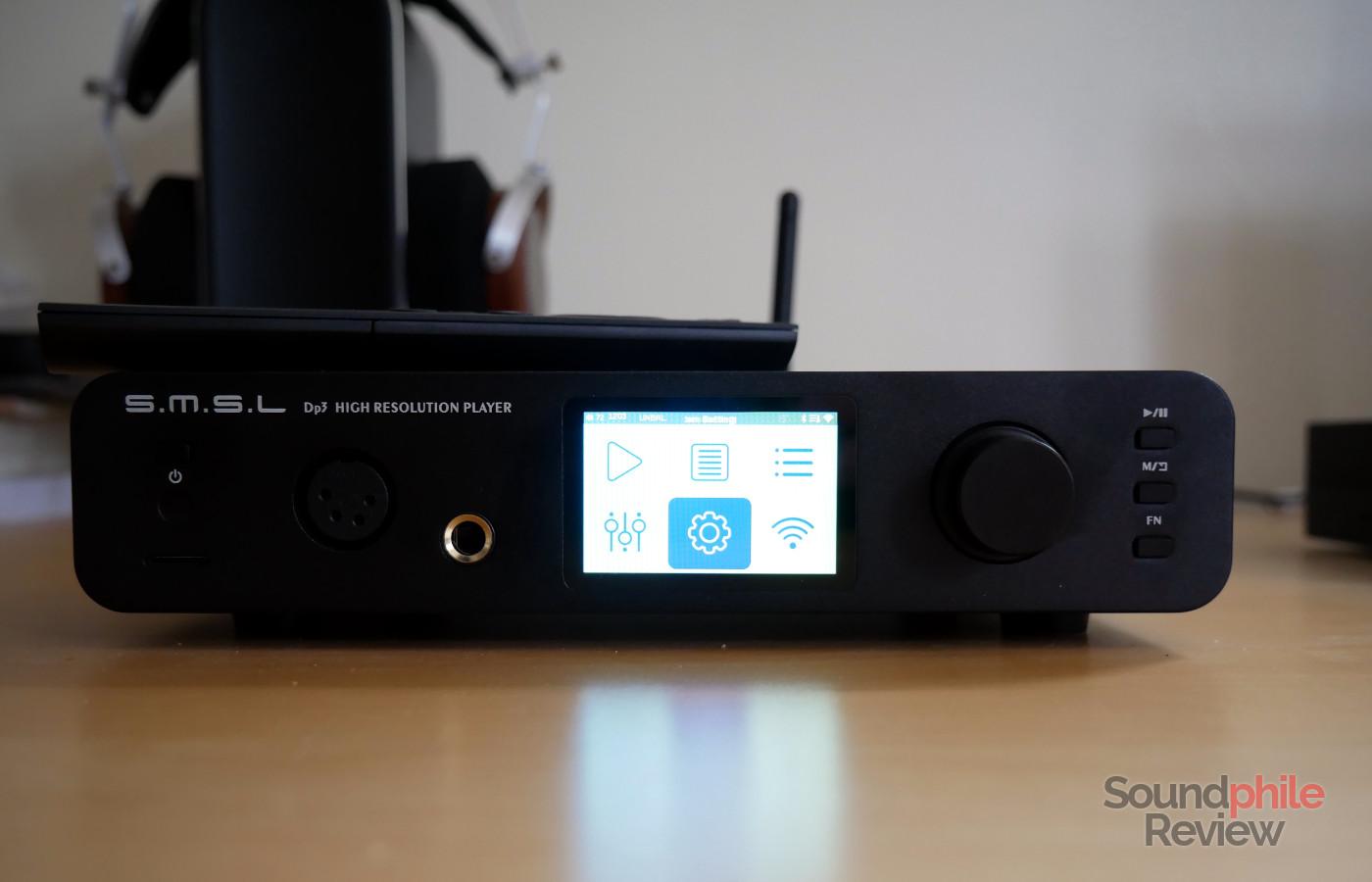 SMSL DP3 review: a player for your desktop - Soundphile Review