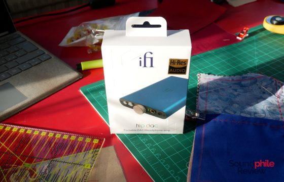 iFi hip dac unboxing
