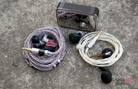 Headphones in Pictures KZ S2, Shozy SH, Thieaudio Voyager 3, E1DA PowerDAC v2